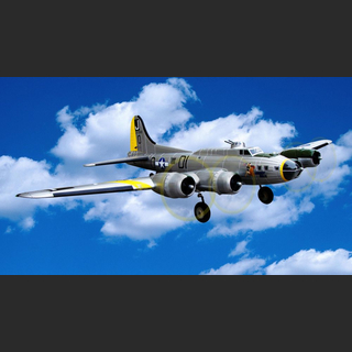 B-17 Flying Fortress EPO 1875 mm silber PNP